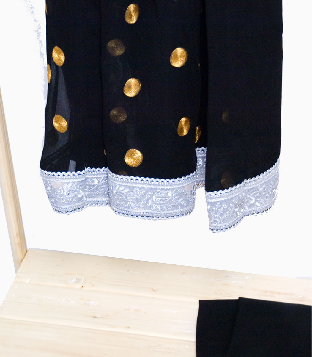 لباس گند افغانی مشکی