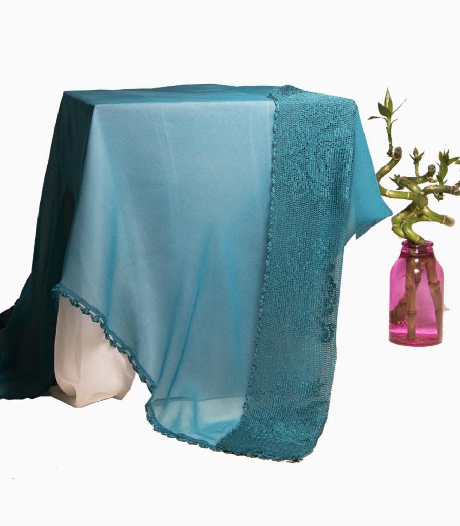 شال سبز آبی