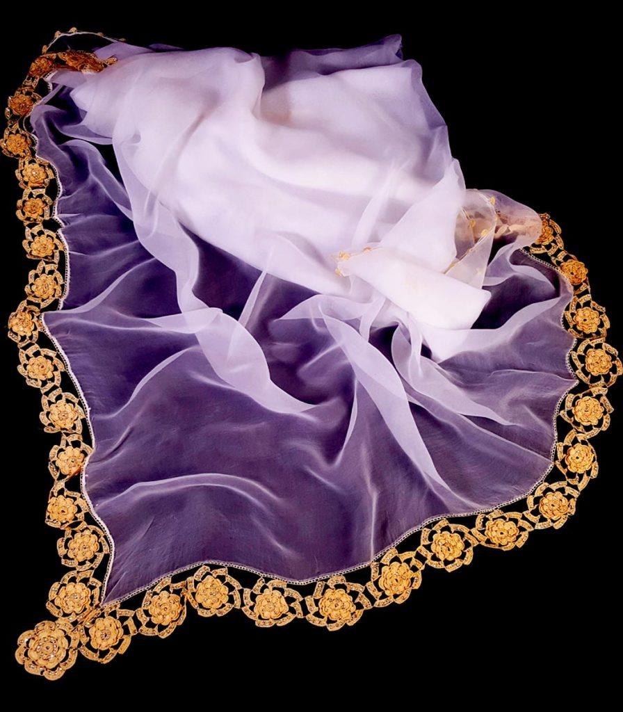 روسری گاج بافتنی